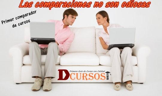 Comparar ofertas de cursos de formación profesional por internet